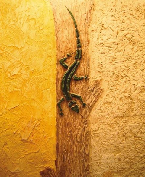 Внутренняя декоративная штукатурка стен