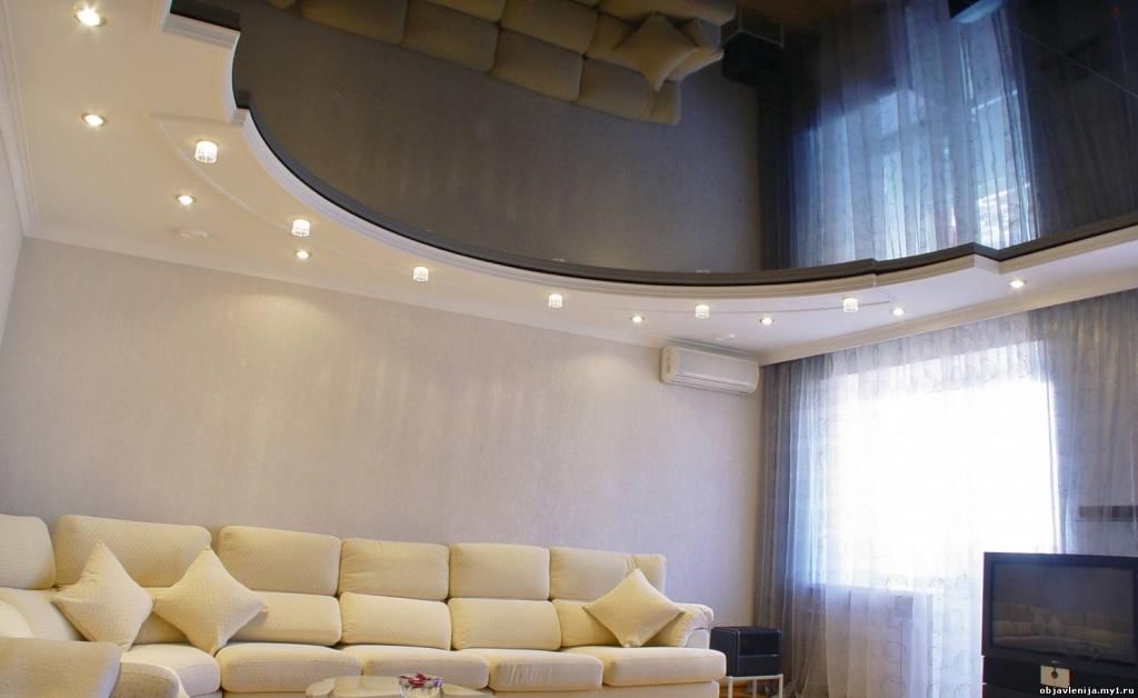 потолок в кватире